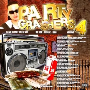 Dj MilkyMike-Party Crashers Vol4(150)