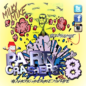 PArty Crashers Vol 8 Back